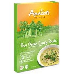 PASTA CURRY THAI GREEN BIO 80g - AMAIZIN