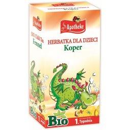 HERBATKA DLA DZIECI – KOPER BIO (20 x 1.5 g) 30 g – APOTHEKE