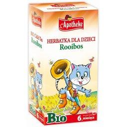 HERBATKA DLA DZIECI – ROOIBOS BIO (20 x 1.5 g) 30 g – APOTHEKE