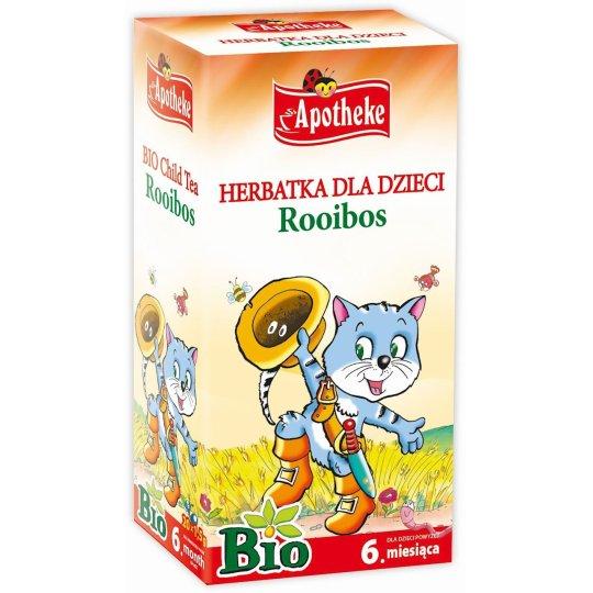 HERBATKA DLA DZIECI ROOIBOS BIO (20 x 1.5 g) 30 g – APOTHEKE