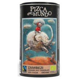 CZEKOLADA NA GORĄCO ZAMBEZI KARMELOWA BIO 250 g – PIZCA DEL MUNDO