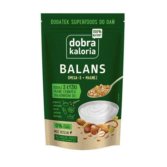 DODATEK SUPERFOODS DO DAŃ - BALANS - BEZ DODATKU CUKRU 200G - DOBRA KALORIA