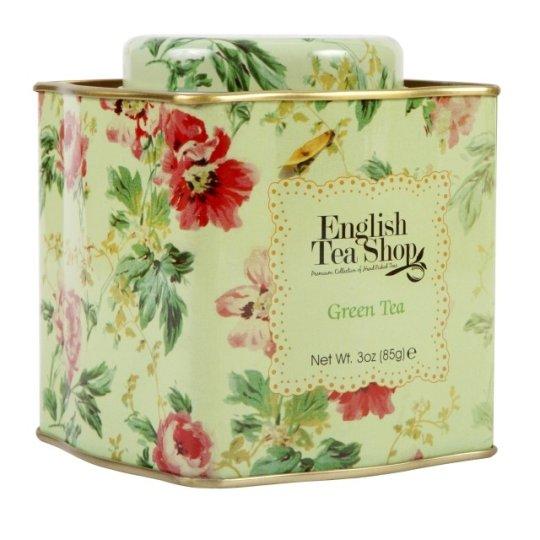HERBATA ZIELONA GREEN TEA W PUSZCE BIO FAIR TRADE85g - ENGLISH TEA SHOP