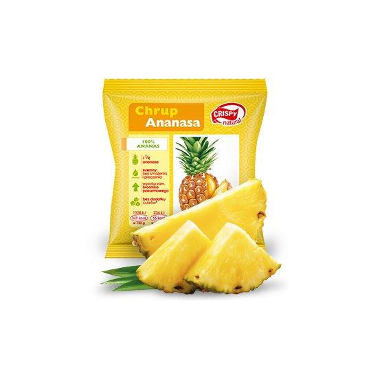 CHIPSY Z ANANASA 15 g – CRISPY NATURAL