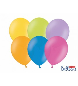 BALONY STRONG 27 cm PASTEL 10 szt. - PARTY TIME