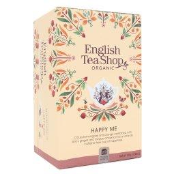 HAPPY ME ZESTAW HERBAT POPRAWIAJĄCYCH NASTRÓJ BIO 30g - 20 SASZETEK - ENGLISH TEA SHOP