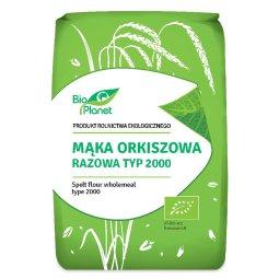 MĄKA ORKISZOWA RAZOWA TYP 2000 BIO 1 kg – BIO PLANET