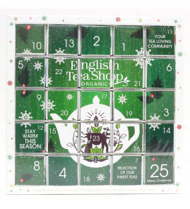 KALENDARZ ADWENTOWY GREEN PUZZLE (25 HERBAT PIRAMIDEK) 50g BIO - ENGLISH TEA SHOP