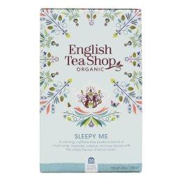 SLEEPY ME ZESTAW HERBAT UŁATWIAJĄCYCH ZASYPIANIE BIO 30g - 20 SASZETEK - ENGLISH TEA SHOP