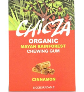 GUMA DO ŻUCIA CYNAMON BIO 30 g – CHICZA