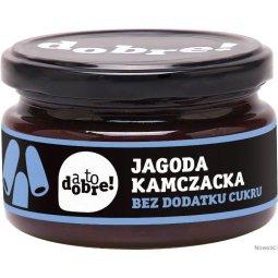 JAGODA KAMCZACKA (KONFITURA) SŁODZONA SOKIEM JABŁKOWYM - A TO DOBRE - 215g - BIOONE
