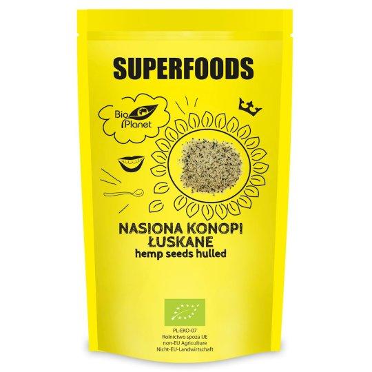 NASIONA KONOPII ŁUSKANE SUPERFOODS BIO 250 g – BIO PLANET