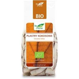 PLASTRY KOKOSOWE BIO 100 g – BIO PLANET