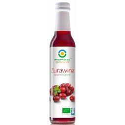 SYROP ŻURAWINOWY BIO 250 ml – BIO FOOD