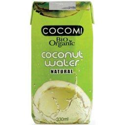WODA KOKOSOWA NATURALNA BIO 330 ml – COCOMI
