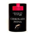 CZEKOLADA DO PICIA GORZKA Z MALINAMI 200 g – CHOCOLATE BUSH