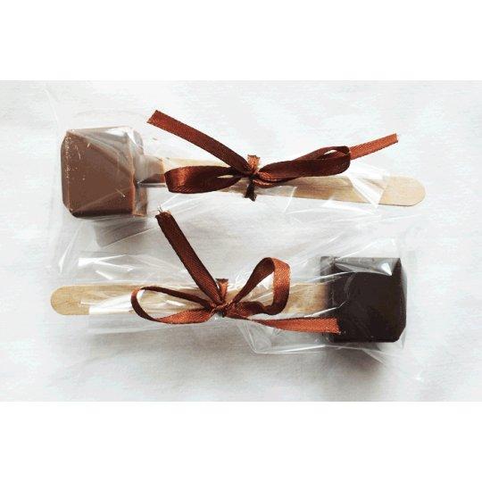 CHOCOSTICK – CZEKOLADA MLECZNA DO PICIA 37 g – CHOCOLATE BUSH