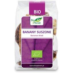 BANANY SUSZONE BEZ CUKRU BIO 150 g – BIO PLANET