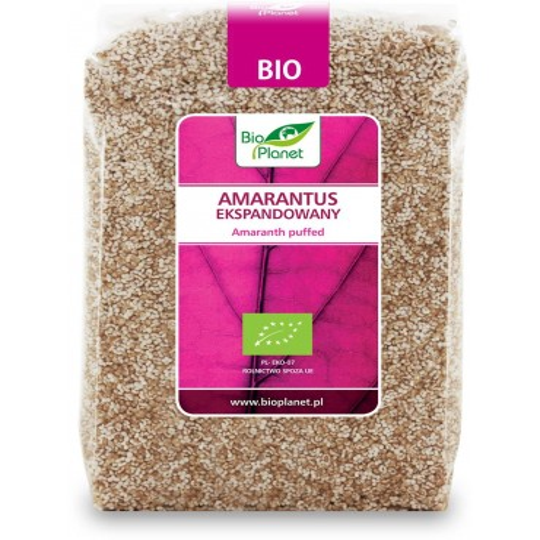 AMARANTUS EKSPANDOWANY BIO 150 g – BIO PLANET