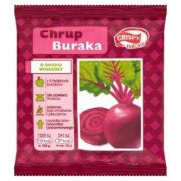 CHIPSY Z BURAKA O SMAKU WINEGRET (PLASTRY) 18 g – CRISPY NATURAL