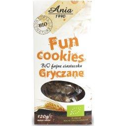FUN COOKIES GRYCZANE BIO 120 g – ANIA