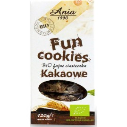 FUN COOKIES KAKAOWE BIO 120 g – ANIA