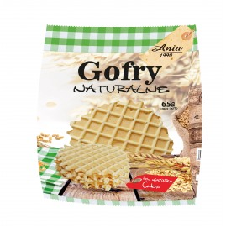 GOFRY NATURALNE BEZ CUKRU 65 g – BIO ANIA