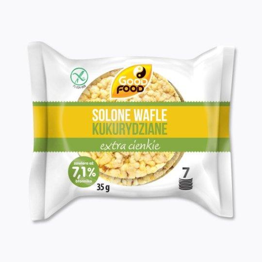 SOLONE WAFLE KUKURYDZIANE EXTRA CIENKIE 35g – GOOD FOOD