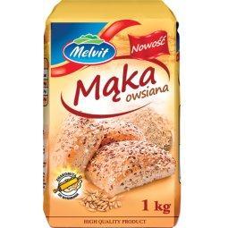 MĄKA OWSIANA - 1kg - MELVIT