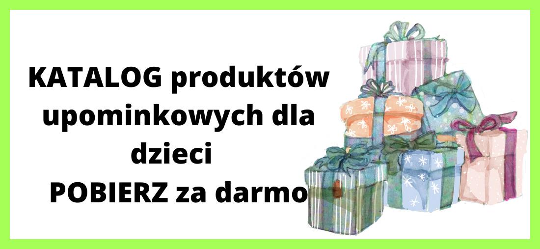 Katalog prezentów do pobrania za darmo.