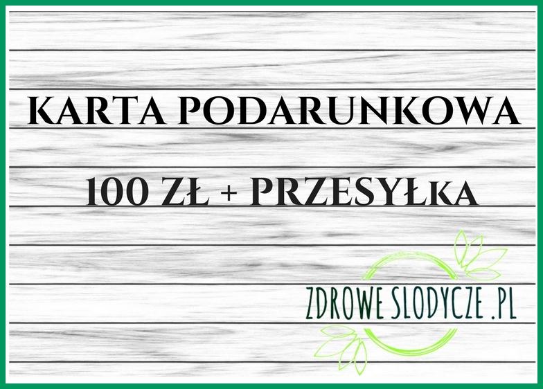 voucher karta podarunkowa 100zł
